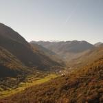 El Valle de Arán en el Pirineo Catalán