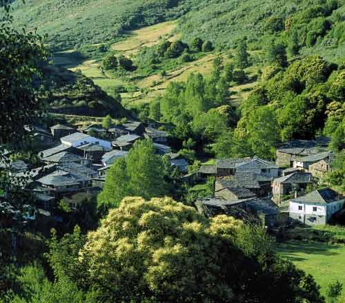 A la gran reserva de O Courel en Lugo