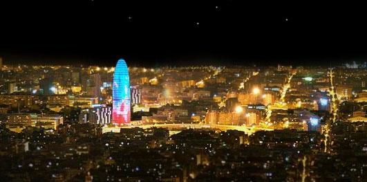 Navidades románticas en Barcelona