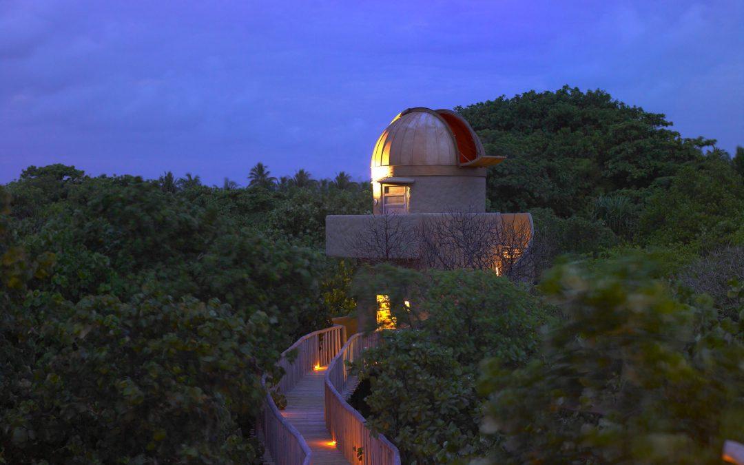Vive el eclipse solar en pleno Océano Índico