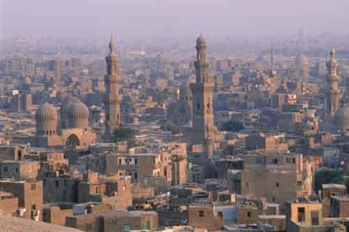 Egipto. Primavera y verano en El Cairo