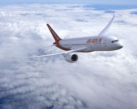 Más vuelos de Air Berlín a Canarias para este verano