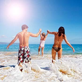 Vacaciones de verano de playa