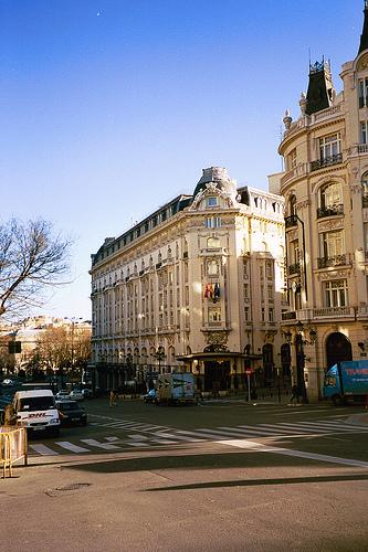 Madrid romántico en otoño
