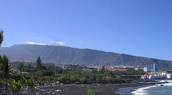 La Orotava, hermosa villa de Tenerife. Islas Canarias