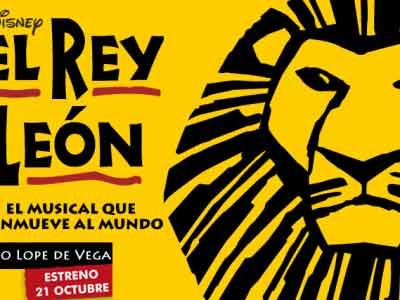Estreno en Madrid de El rey León. Un musical para no perdérselo en una salida viajera en octubre