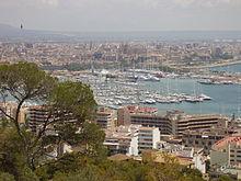Palma de Mallorca, capital de las bellas islas Baleares