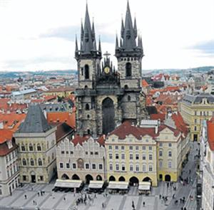 Praga, la bella capital Checa. 2º