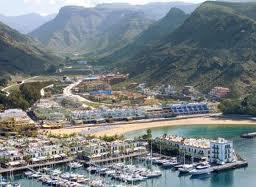 Isla de Gran Canaria, puerto de Mogán