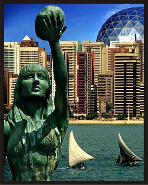 Brasil. Fortaleza, ciudad moderna y entorno natural