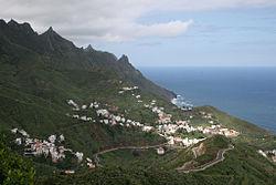 Islas Canarias, Tenerife, espacios naturales