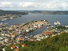 Noruega, ciudad de Bergen, explorando los singulares fiordos