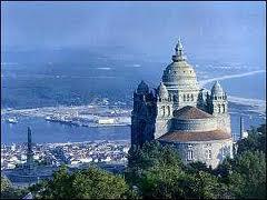 Preciosa costa entre Pontevedra y Portugal