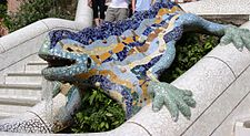 barcelona Reptil_Parc_Guell_Barcelona