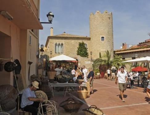 El centro histórico de Begur