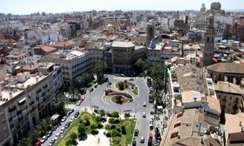 Hoteles asequibles en Valencia