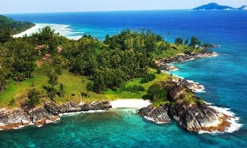 Recorra las islas Seychelles