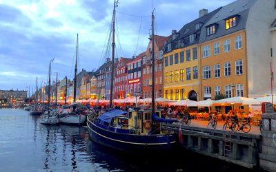 Navidades blancas. Dinamarca, Copenhague 1º