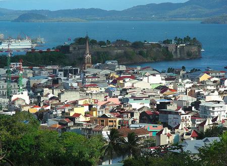 Guadalupe. Caribe. La isla de hermosas aguas