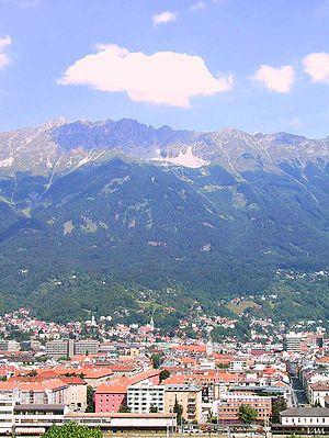 Innsbruk, capital del Tirol. Austria. 1º
