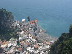 Sur de Italia, costa Amalfitana, 1º