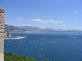 Golfo de Salerno, Sur de Italia