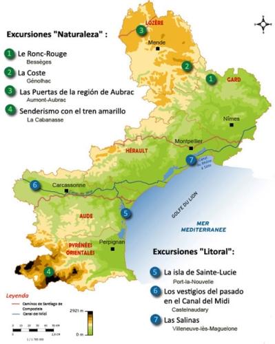 Languedoc-Rosellón, el sol de Francia (VIII) – Excursiones y rutas