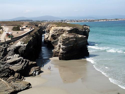 Costa de Lugo, mar Cantábrico