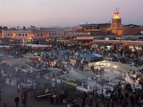 Marrakech, Marruecos. La bella y misteriosa