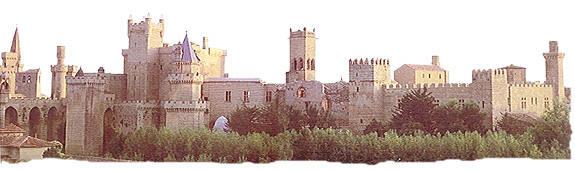 Olite y su castillo – palacio, Navarra