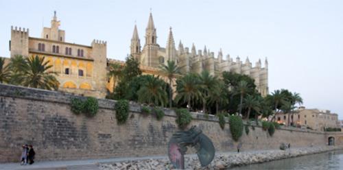 Palma de Mallorca, monumental e histórica