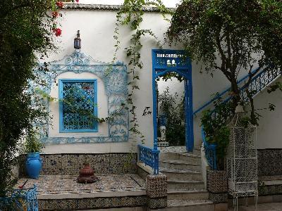 Poema azul Patio-sidi-bou-said