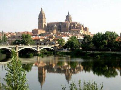 Salamanca, España. Ciudad de la cultura, el arte y la marcha.1ª parte