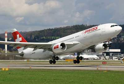 Swiss Air Lines aumentará sus vuelos con España este verano