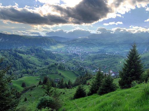 Transilvania, Rumanía. Bellísimas montañas