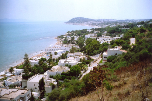 Túnez capital y Sidi Bou Said. Bahía de Cartago