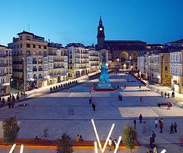 Vitoria-Gasteiz, hermosa capital de Álava. 1º